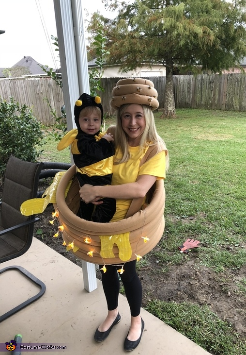 Happ'bee Hive'oween Homemade Costume