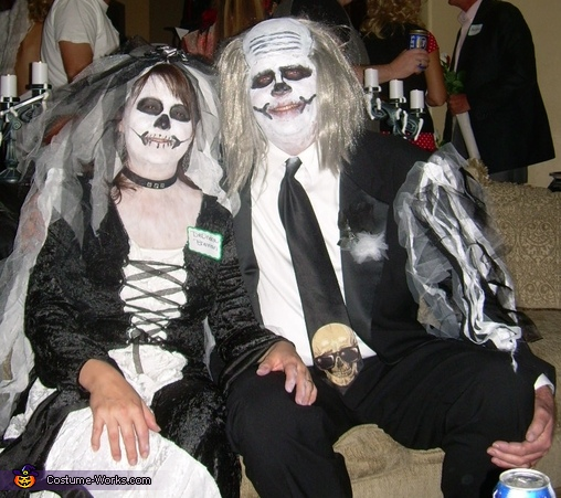 Dead Bride and Groom Couple Costumes