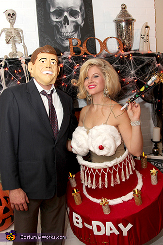 Happy Birthday Mr. President Couples Costume