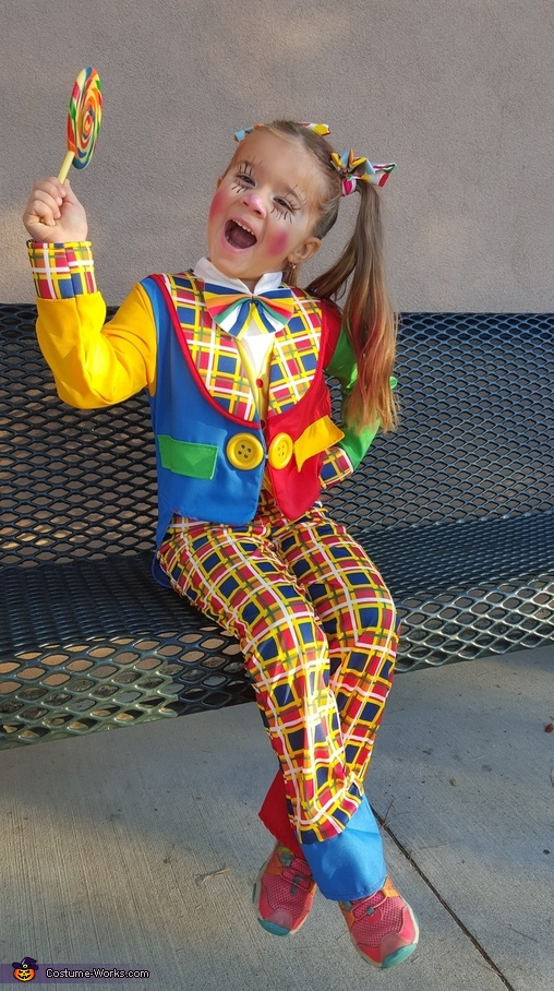Happy Clown in Town Costume
