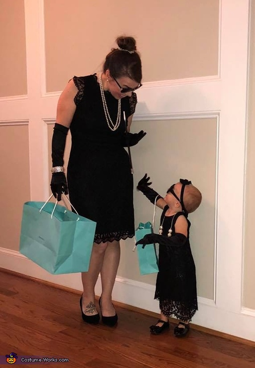 Hi mommy! I'm just like you!!, Happy girls are the prettiest girls! Costume