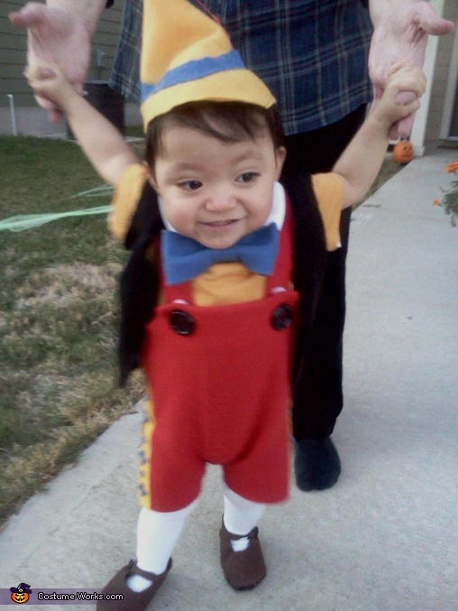 Pinocchio - Homemade costumes for babies