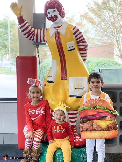 Happy Meal Homemade Costume