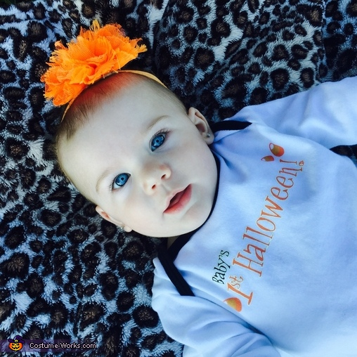 Blue eyes, Happy Pumpkin Costume