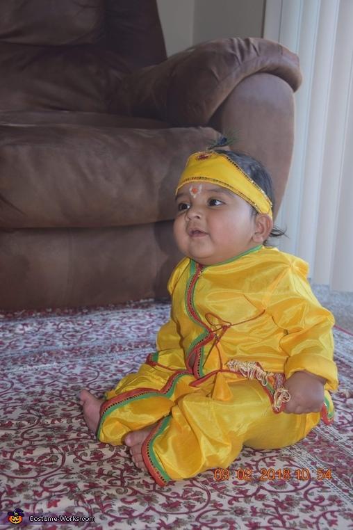 Hare Krishna Costume