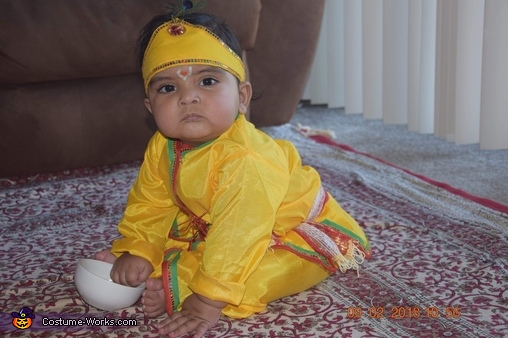 Hare Krishna Homemade Costume