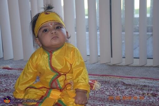 Hare Krishna Homemade Costume
