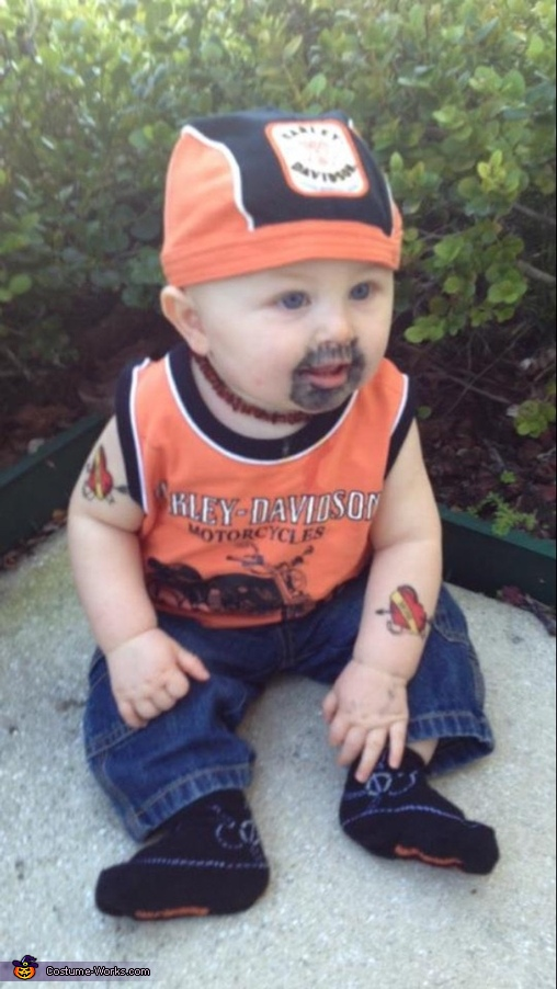 Harley Dude Baby Costume