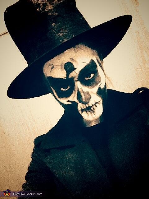 miss skeleton, Harley Quinn Costume