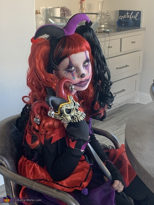 Who me?, Harley Quinn Costume