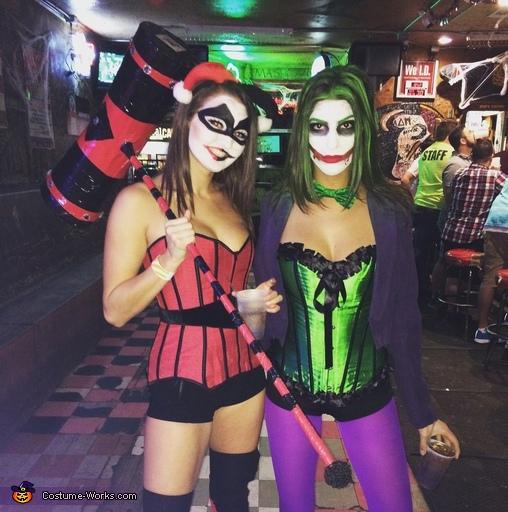 Mista J, Harley Quinn Costume