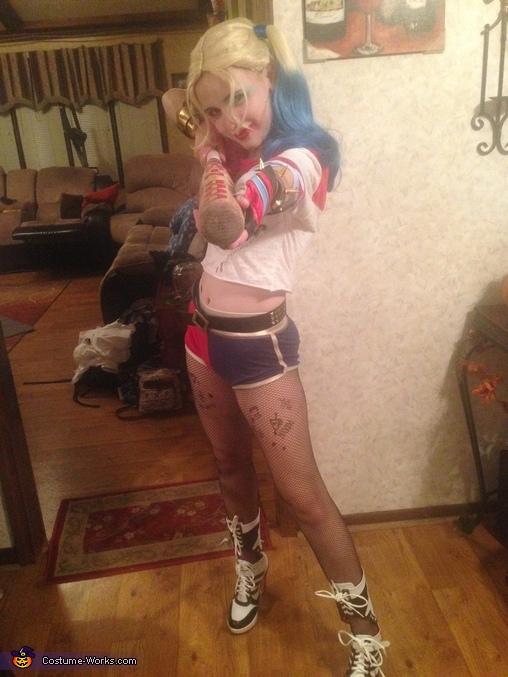 Bang, Harley Quinn Costume