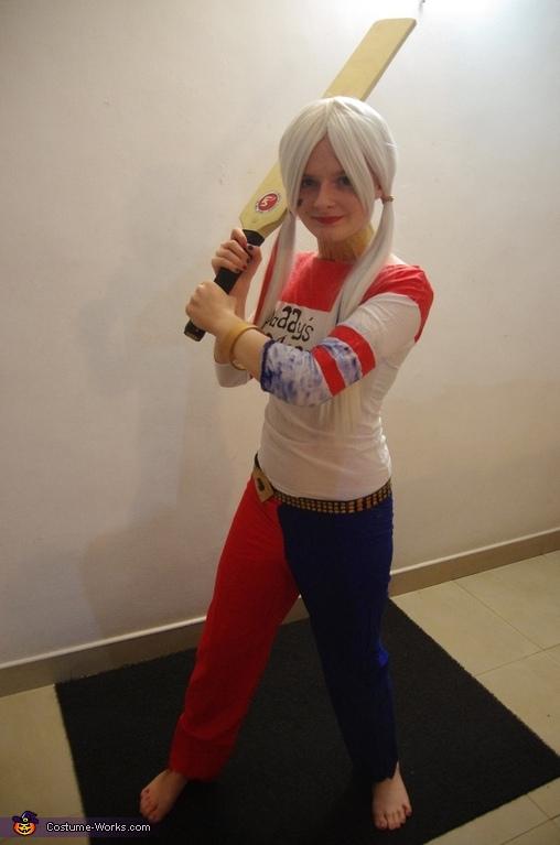Suicide Squad Harley Quinn Costume DIY