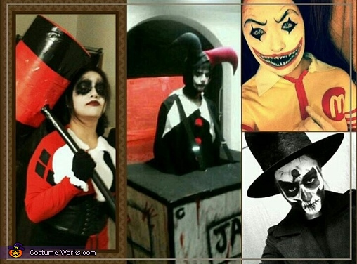 the creeps come out at night, Harley Quinn Costume
