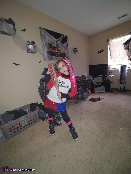 Harley Quinn Homemade Costume