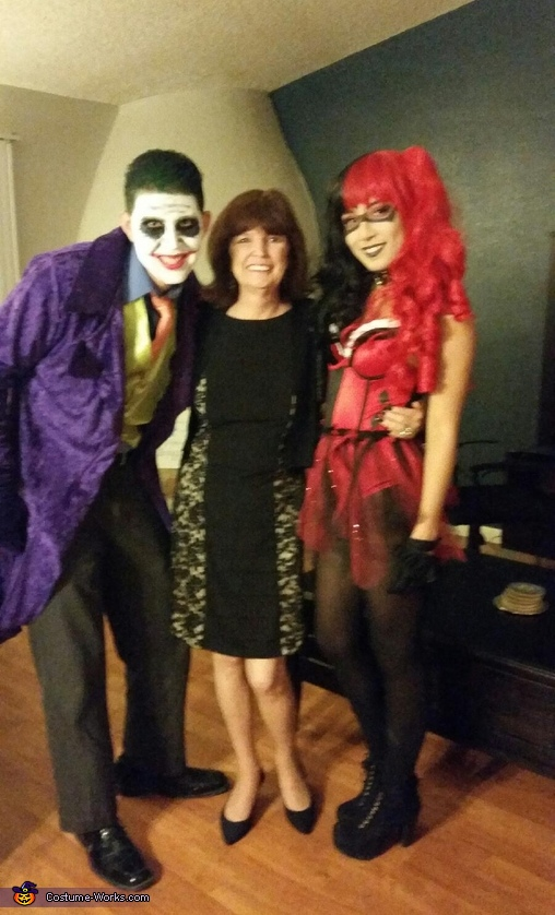 Harls and Mr. J, Harley Quinn and Joker Couple Costume