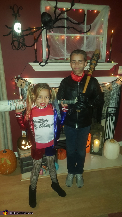 Harley Quinn and Negan Costume