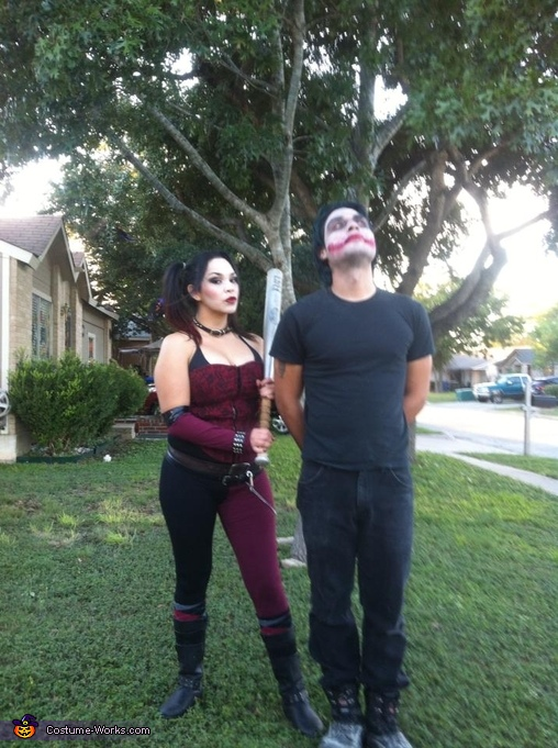 Harley Quinn and the Joker Couples Halloween Costume