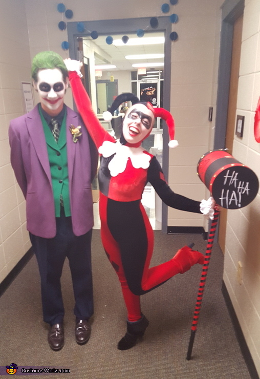 Harley Quinn and The Joker Costume