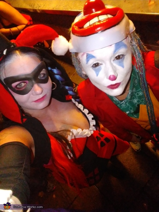 Harley Quinn and the Newest Joker Costume