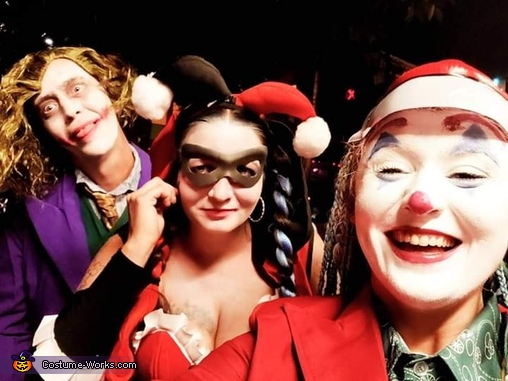 Harley Quinn and the Newest Joker Homemade Costume