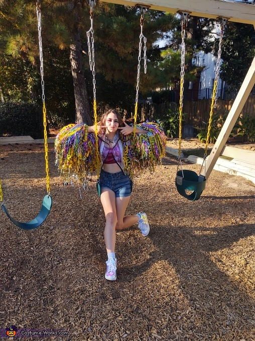 Swings, Harley Quinn Birds of Prey Costume