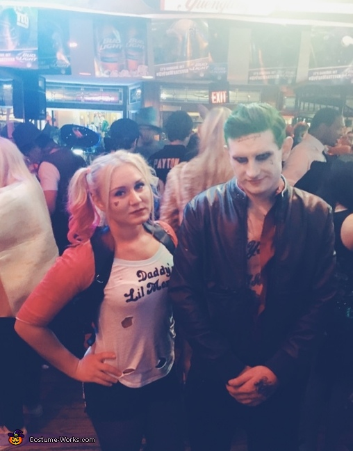 Harley Quinn & The Joker, Harley Quinn from Suicide Squad Costume