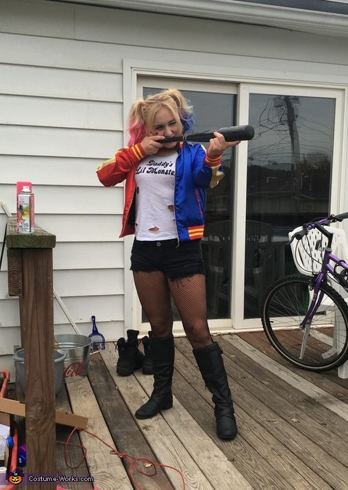 Harley Quinn from Suicide Squad Homemade Costume