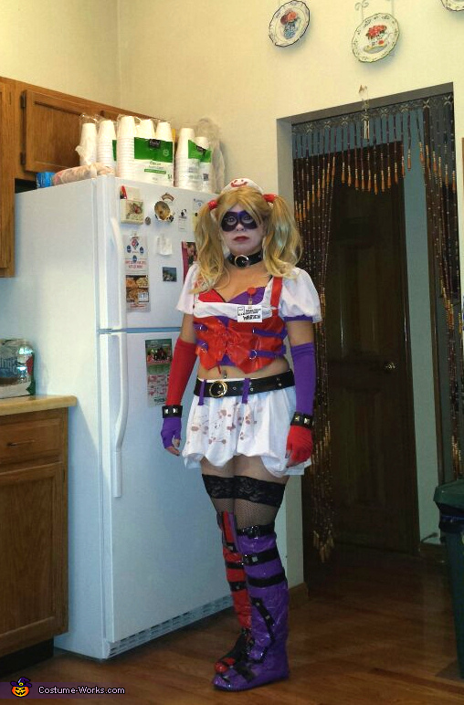 Harley Quinn Insane Asylum Homemade Costume