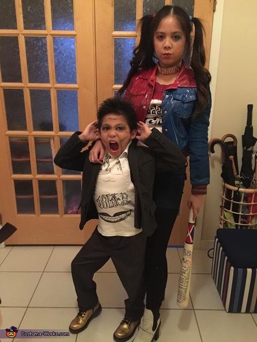 Harley Quinn & Joker Costume