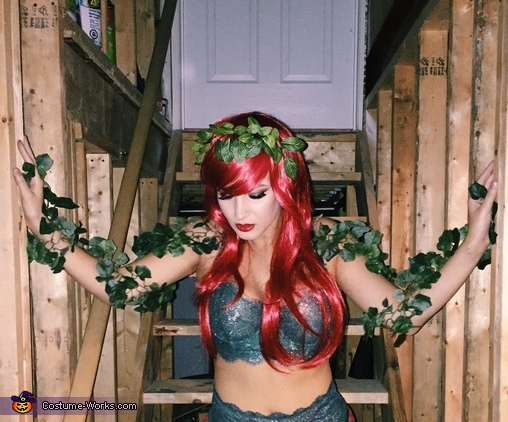 One with nature, Harley Quinn & Poison Ivy Costume