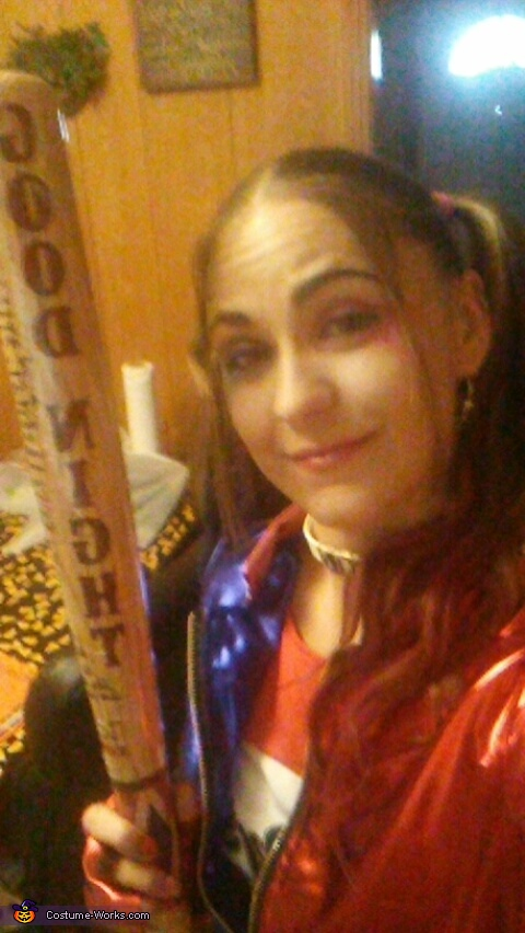 Harley Quinn Suicide Squad Homemade Costume