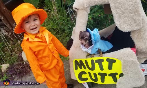 Harry and Lloyd Costume