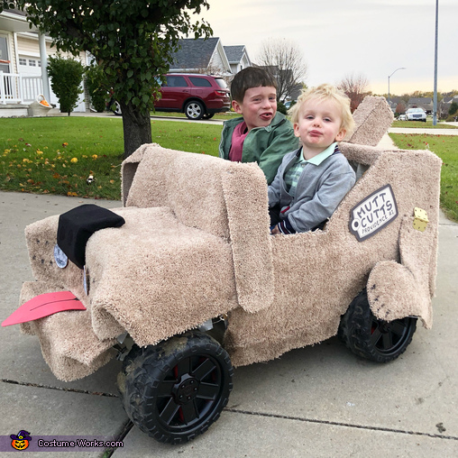 Harry and Lloyd Costume