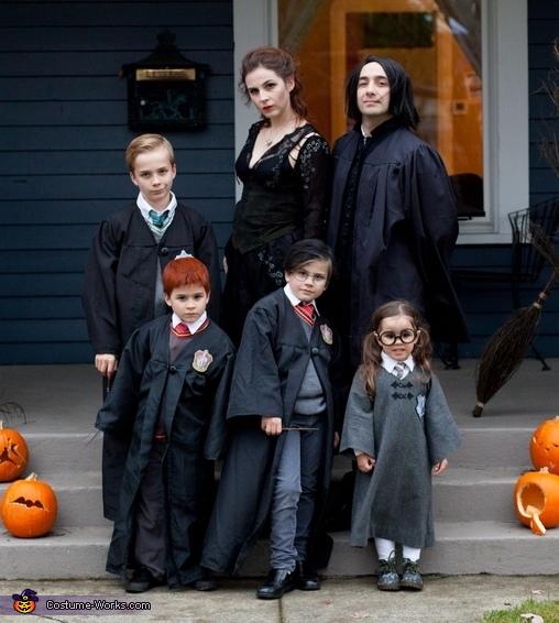 The Macheras half of our crew., Harry Potter Costume