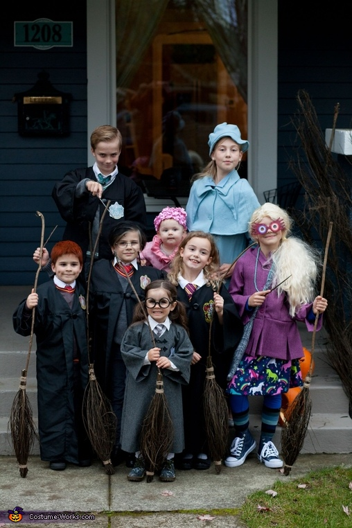 The kids., Harry Potter Costume