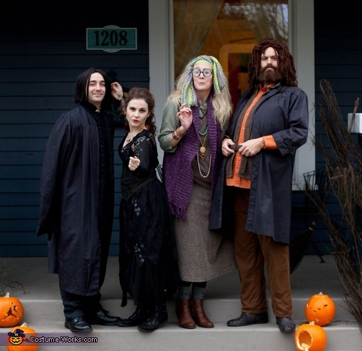 The adults., Harry Potter Costume
