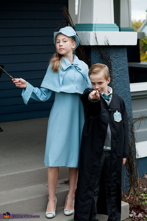 Fleur and Draco., Harry Potter Costume