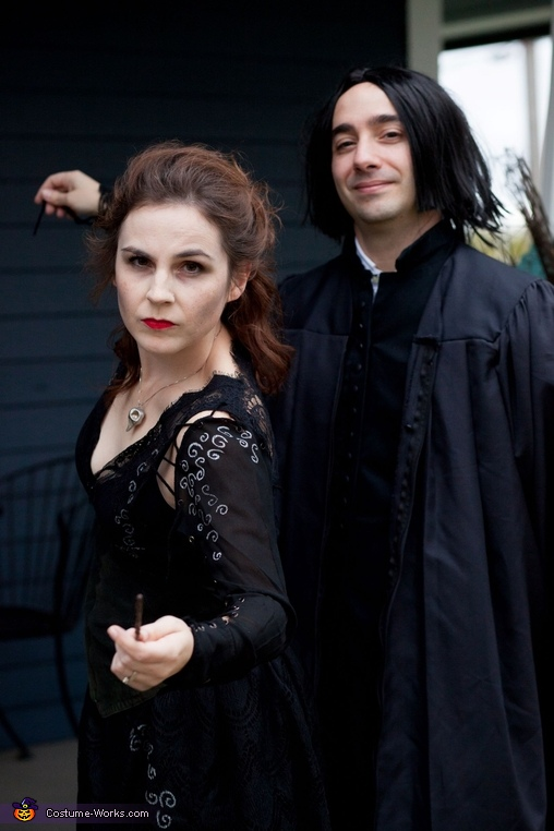 Bellatrix and Snape., Harry Potter Costume