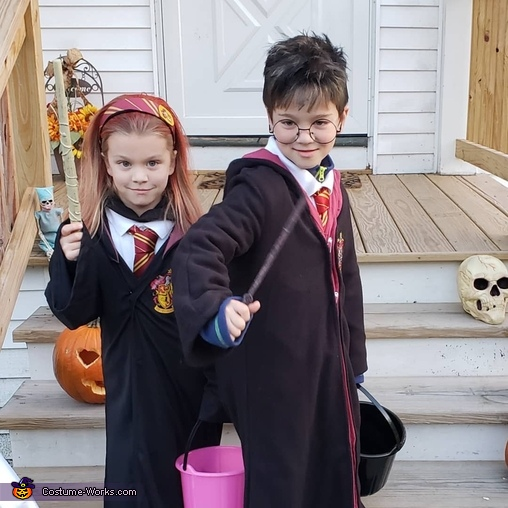 Harry potter, Harry Potter and Hermione Costume