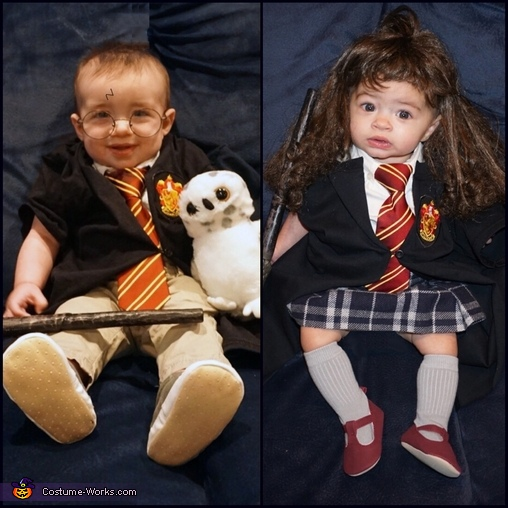 Harry Potter and Hermione!, Harry Potter and Hermione Costume