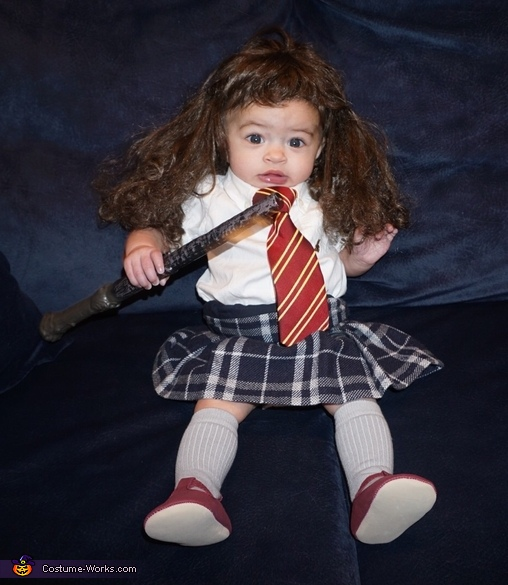 Casting spells!, Harry Potter and Hermione Costume