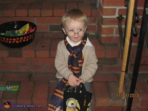 Harry Potter Baby Homemade Costume