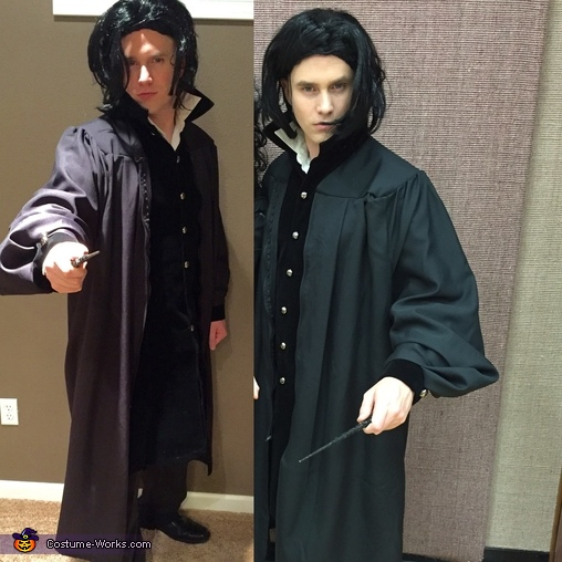 Severus Snape, Snape, Bellatrix and Dobby - Harry Potter Crew Costume