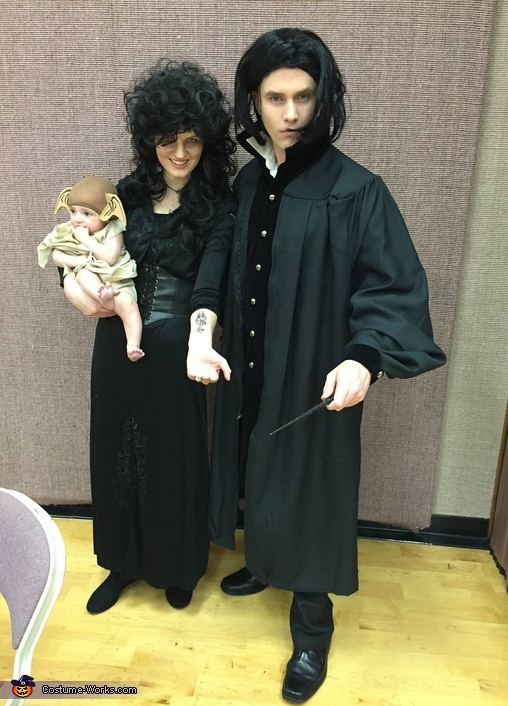 Snape, Bellatrix and Dobby - Harry Potter Crew Costume