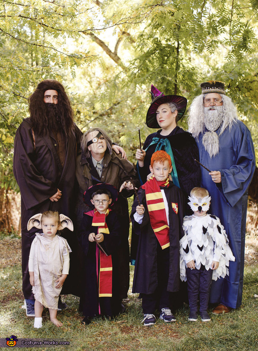 """Harry Potter and the """"DAHL's"""" on fire Costume"""