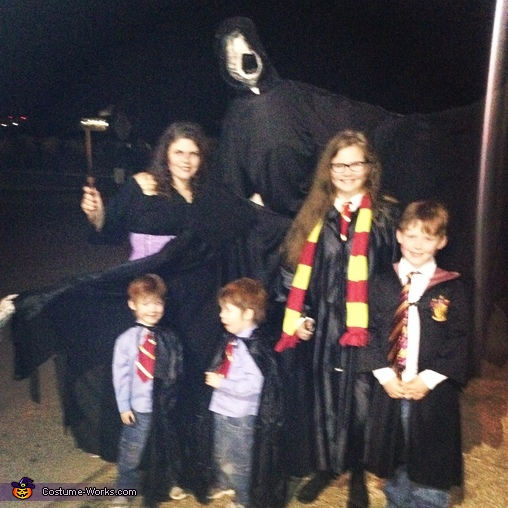 Family Face Off, Harry Potter Family Costume