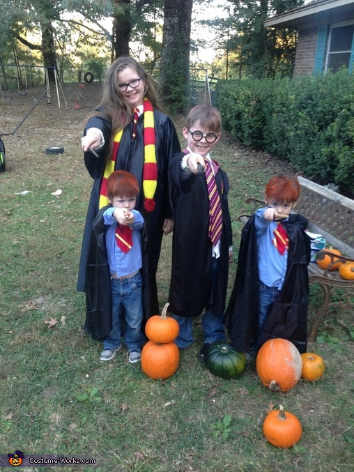 Wizarding Kids, Harry Potter Family Costume