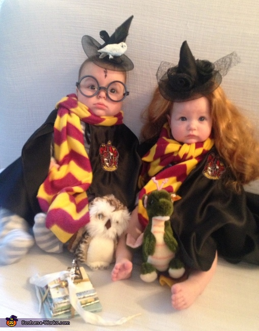 twin harry hermione costume