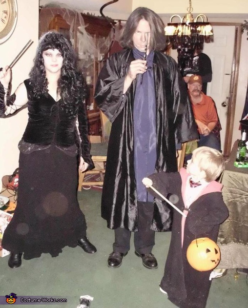 Harry Potter Trio - Homemade costumes for families